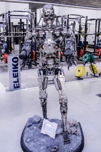 Terminator höchst persönlich vor Ort